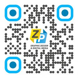 QR code met design met logo