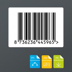 EAN 13 barcode voor audiodragers