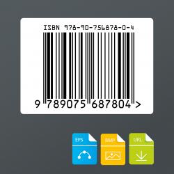 ISBN barcode voor audiodragers