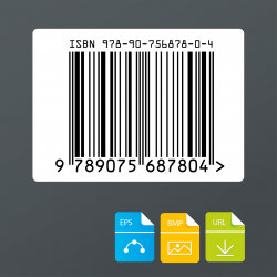 ISBN barcode afbeelding voor boeken bestellen