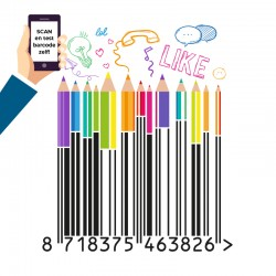 Barcode creative design ART