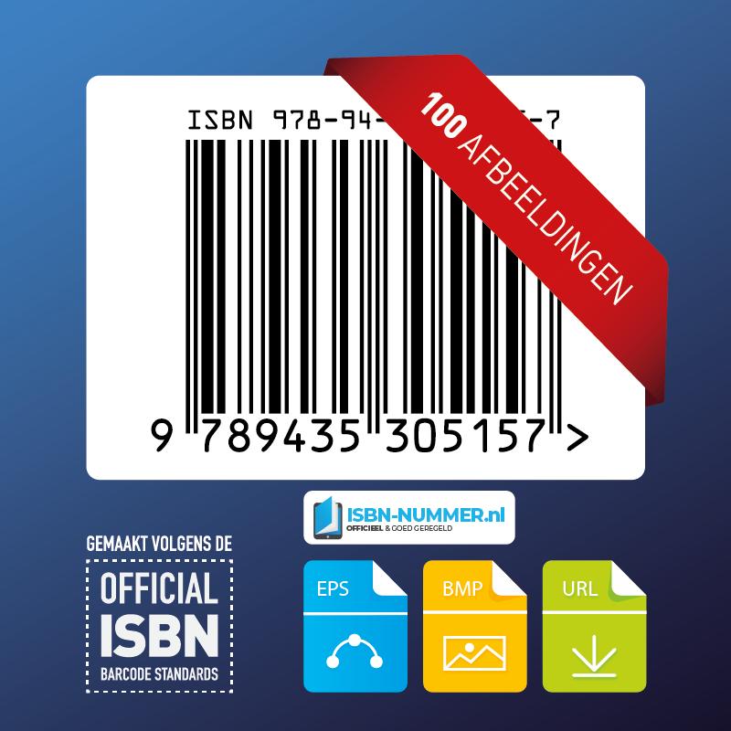 100x ISBN nummer afbeeldingen