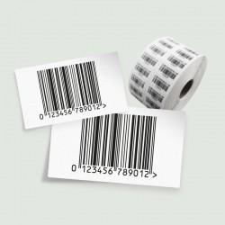 Barcodestickers / Etiketten op rol
