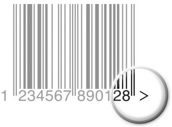 barcode afbeelding quiet zone
