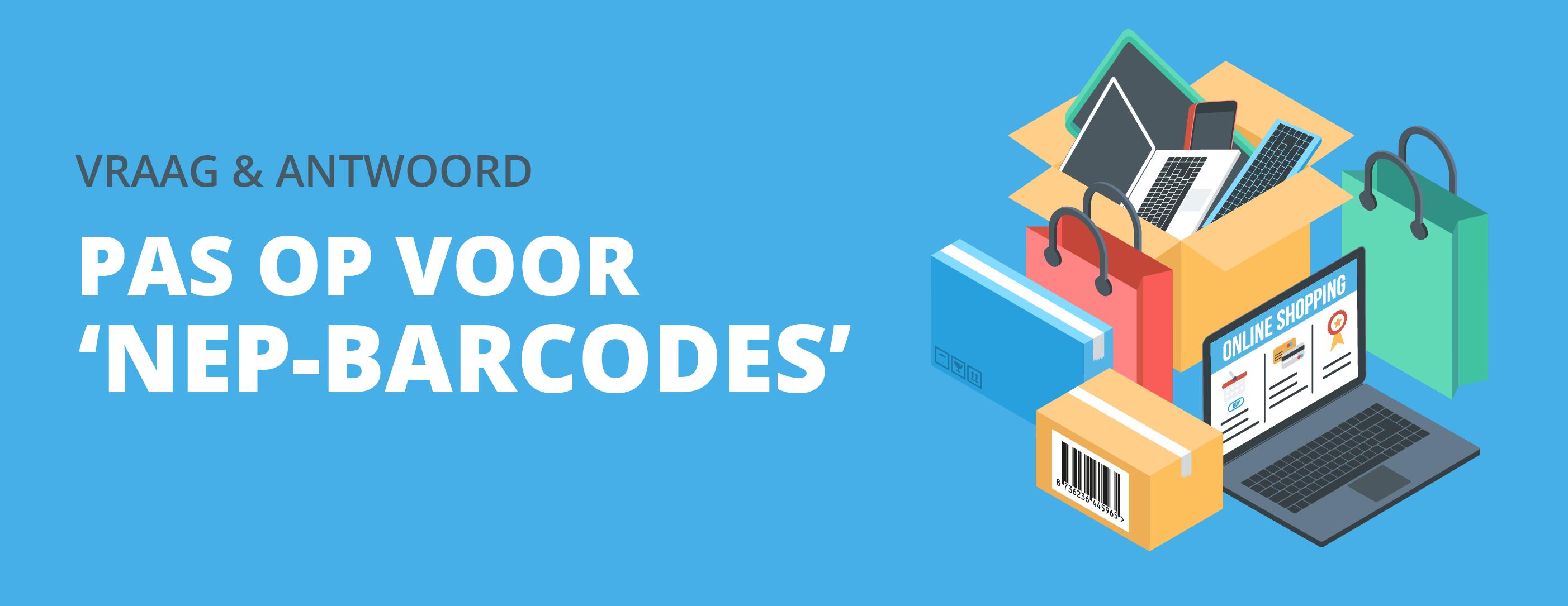 Pas op voor 'nep-barcodes'