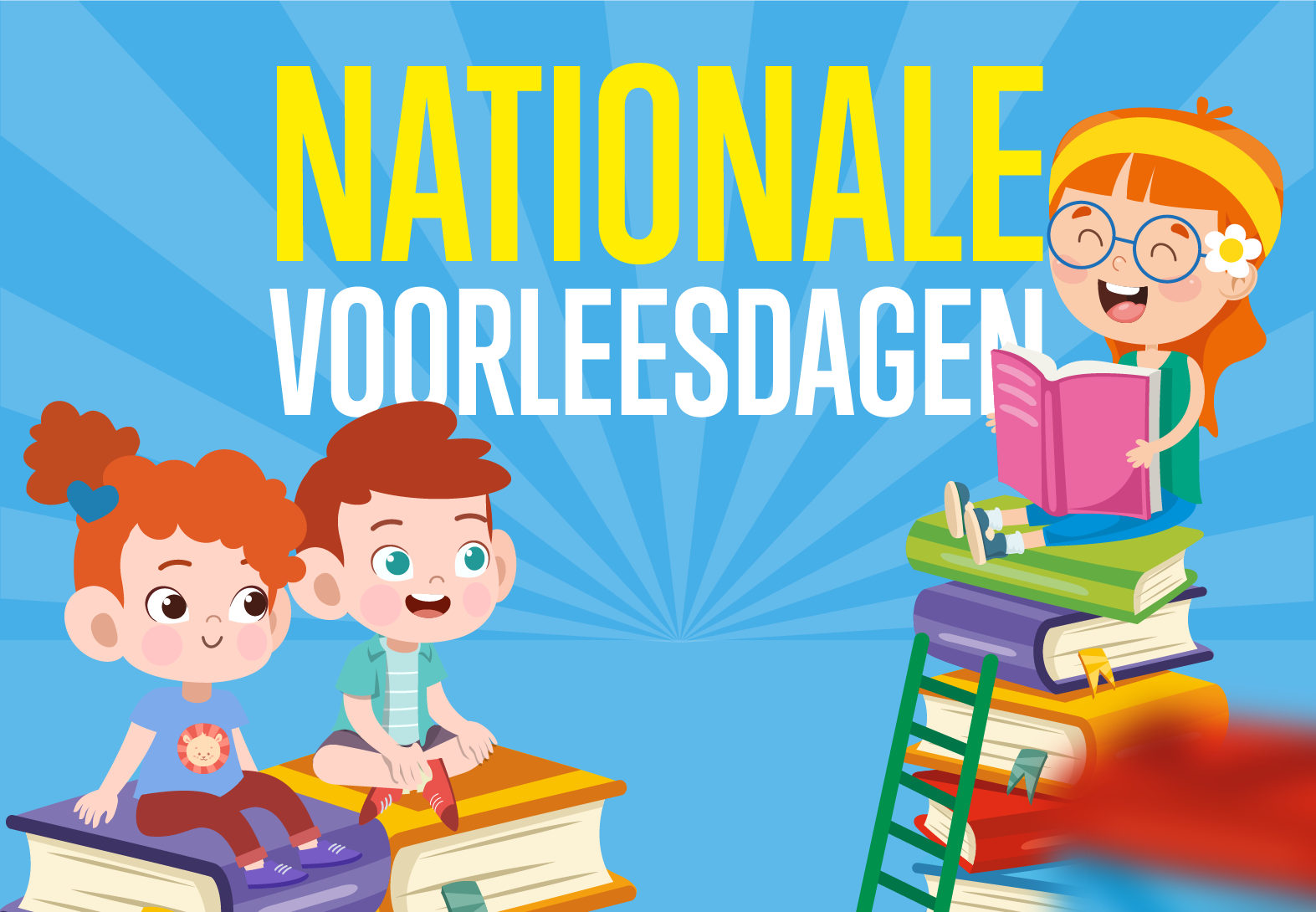 Nationale voorleesdag 22 jan - 1 feb 2020